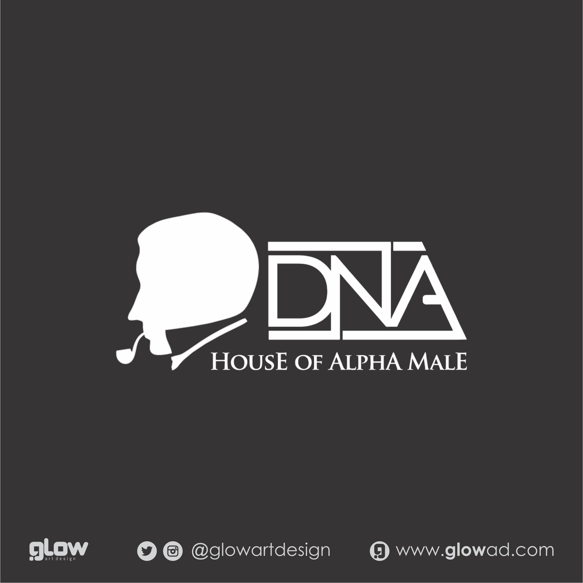 Logo DNA barbesshop - Jakarta - @glowartdesign