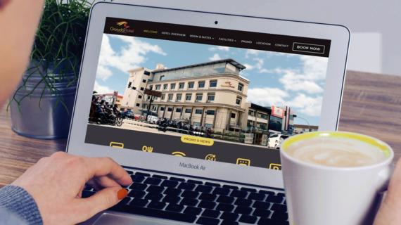 Website Garuda Hotel Pontianak